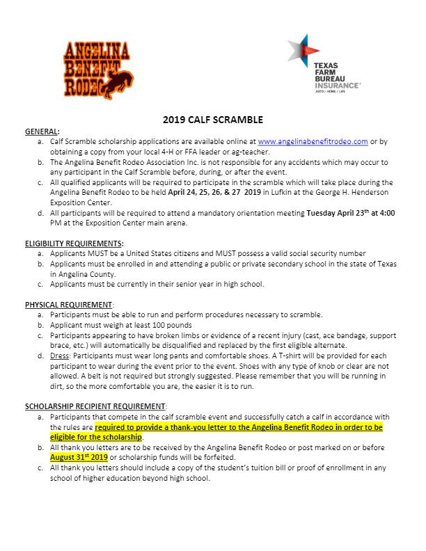 Scholarship App Calf Scramble (Non AG)-thumbnail