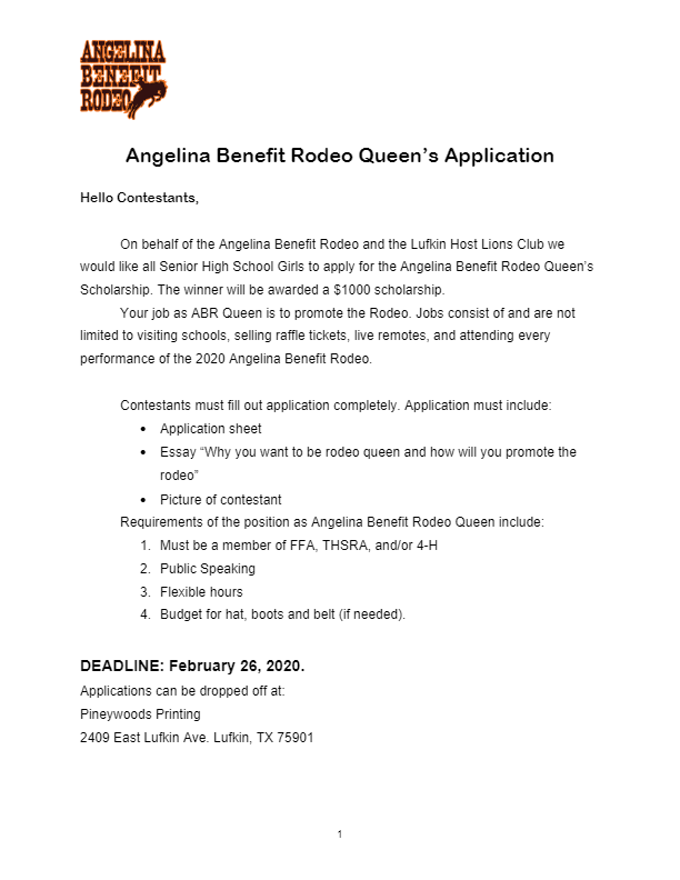 Rodeo Queen Application 2020-thumbnail